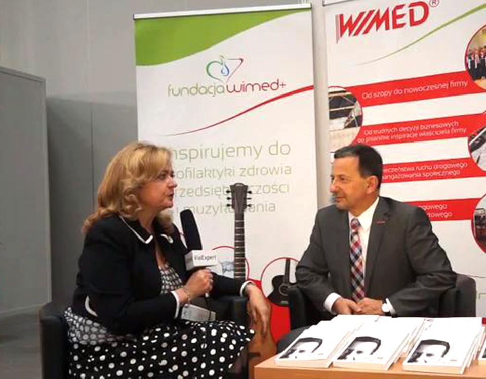 Wywiad ze Zdzisławem Dąbczyńskim o Fundacji WIMED +