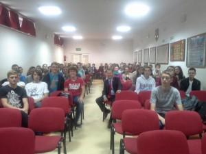 Przedsiębiorczość w praktyce. Zdzisław Dąbczyński na spotkaniu z licealistami