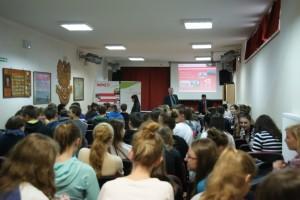 Przedsiębiorczość. Spotkanie Zbigniewa Dąbczyńskiego z licealistami