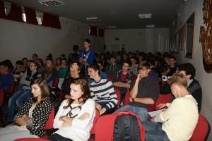 Przedsiębiorczość. Spotkanie Zbigniewa Dąbczyńskiego z uczniami Liceum Ogólnokształcącego w Tuchowie