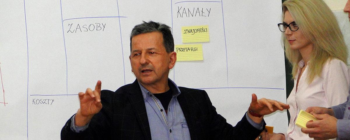 The business model cancas warsztaty Zdzisława Dąbczyńskiego