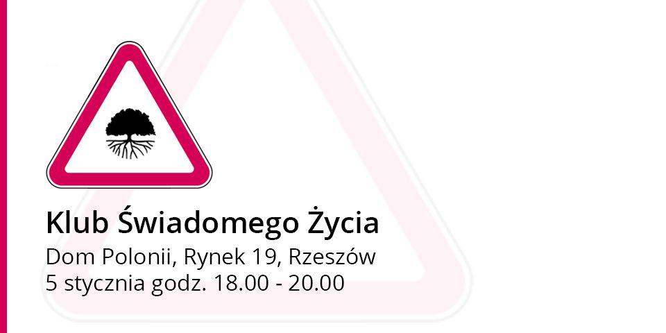 Klub Świadomego Życia prelekcja Zdzisława Dąbczyńskiego