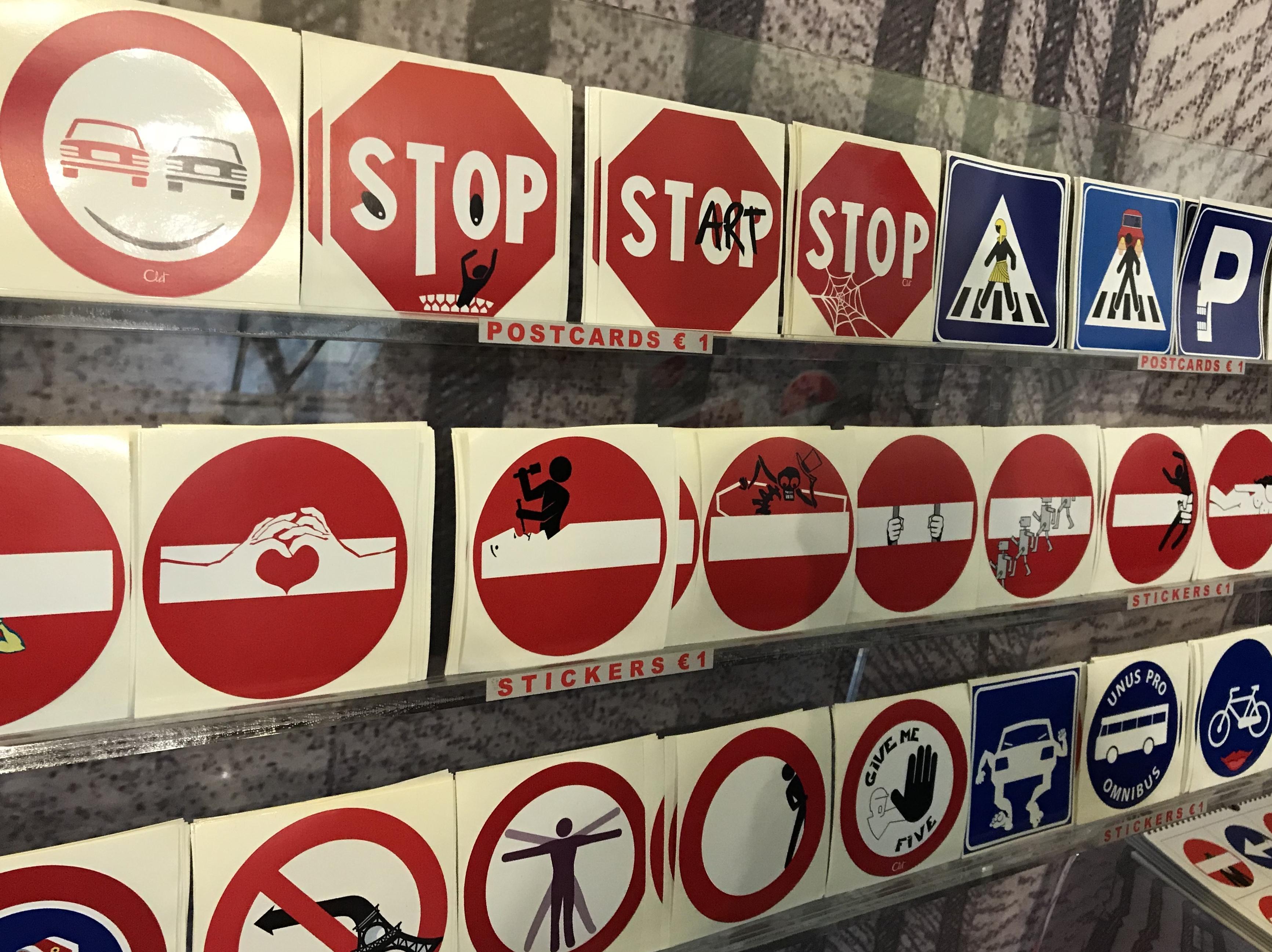 CLET. Florencja. Znaki drogowe w nowej odsłonie.